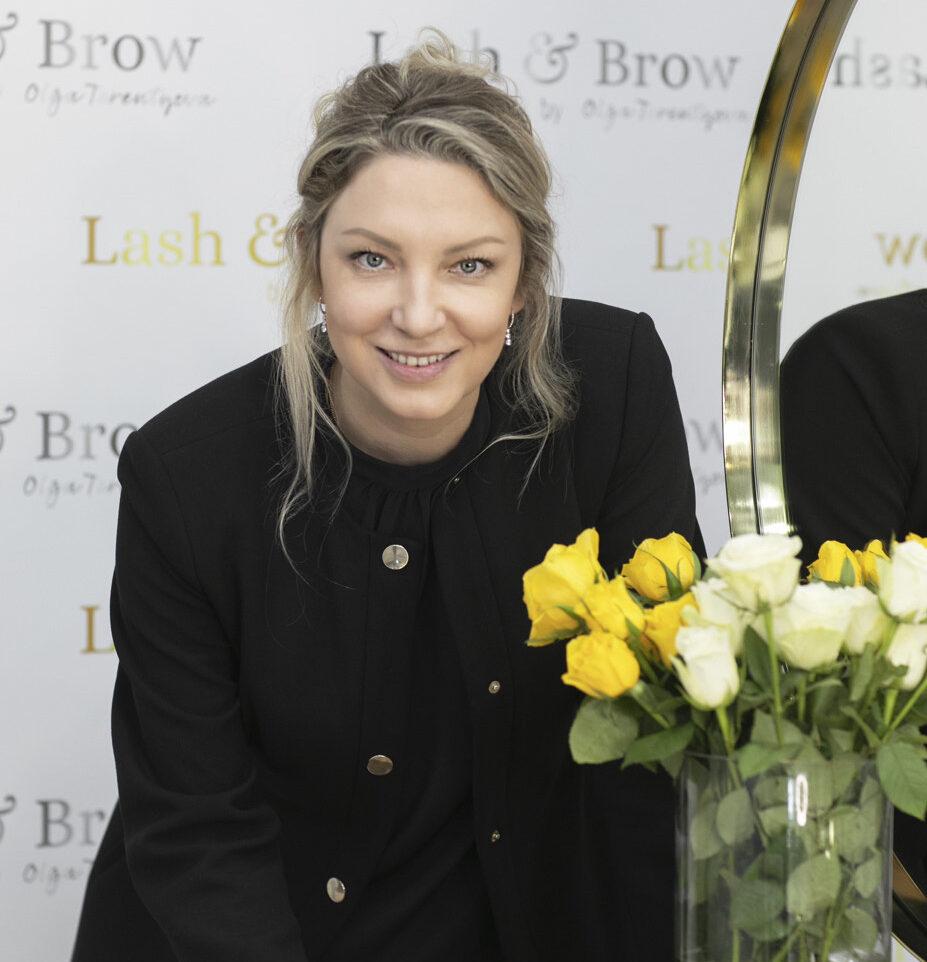 Lash & Brow Owner Olga Terentyeva